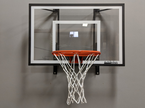 Mini Pro Ultimate Basketball Hoop Set - Black