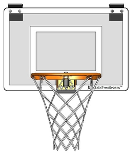 Mini Pro I Door Mount Basketball Hoop Set
