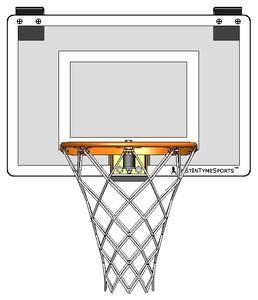 Gentil Mini Pro I Door Mount Basketball Hoop Set