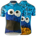 Cookie Monster Novelty Cycling Jerseys