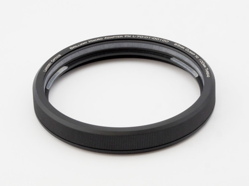 This is a clamping adapter.  It clamps onto 95mm lens barrels such as the Zeiss Ultra Prime and Leica Cinema lenses.  It securely clamps to the lens barrel and provides a 100mm x 0.75 thread. Lens and filter adapters can then be attached via the 100mm thread.