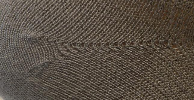 Sock Talk - What Does A Y Heel Stitch Do?