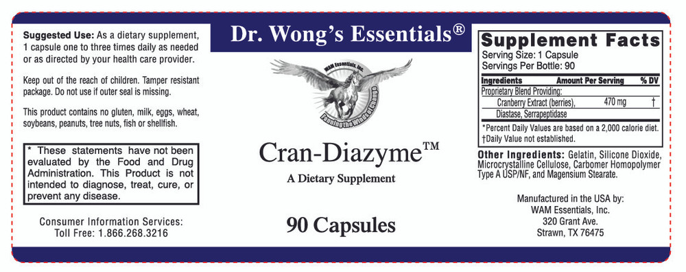Cran-Diazyme®: Label Information