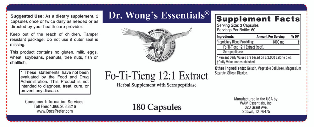 Fo-Ti-Tieng: label information