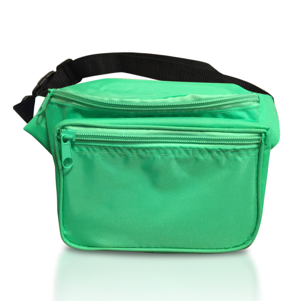 Green Fanny Pack - Front