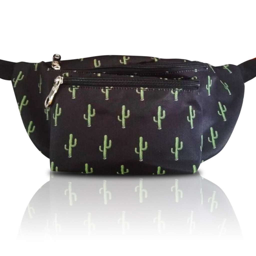 Cactus Fanny Pack Front