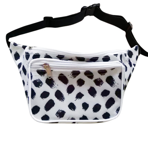 Black Dot Fanny Pack