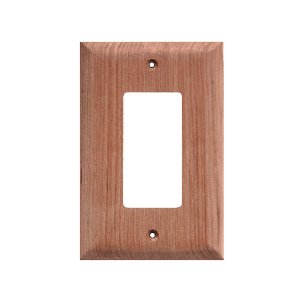Whitecap Teak Ground Fault Outlet Cover