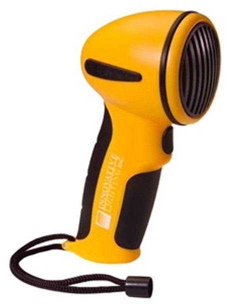 Innovative Lighting 545-2010-7 Marine Hand Held Electric Horn with Mounting Clip--Yellow Case