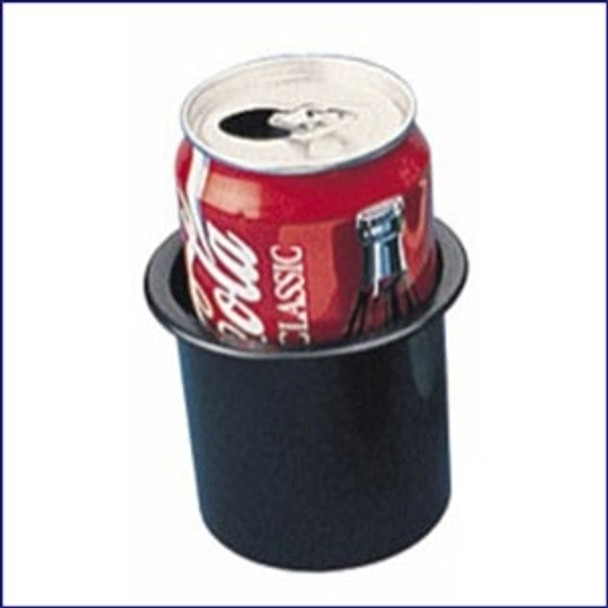 """Sea Dog ABS Flush Mount Black Drink Holder 2-7/8"""""""