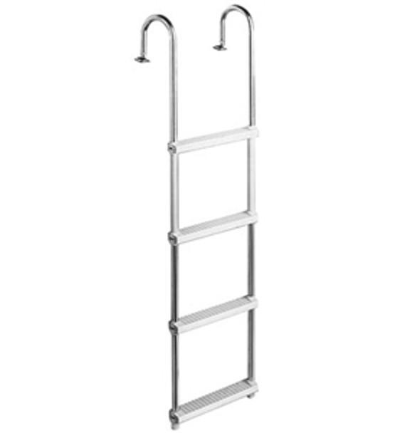 Garelick 15240 4-Step Pontoon Swim Ladder