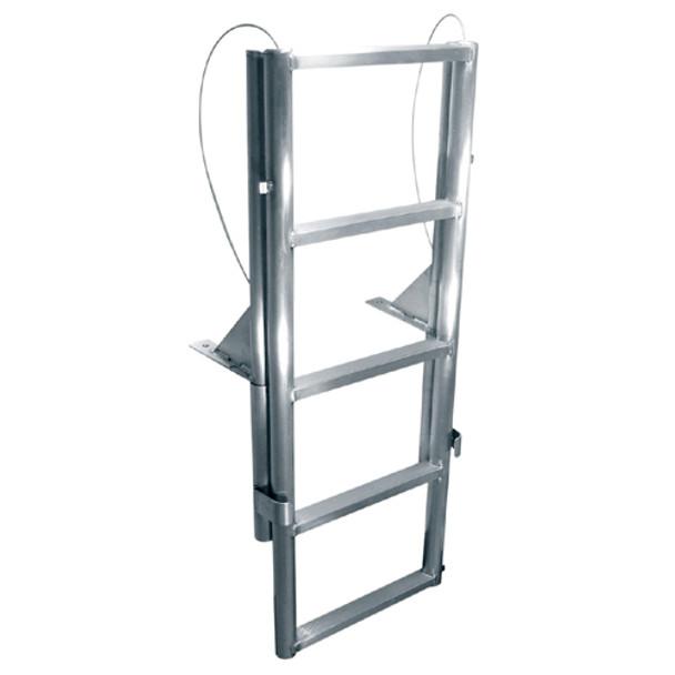 "International Dock Products 6SLFPL2 6 Step Lifting Finger Pier Ladder 2"" Step"