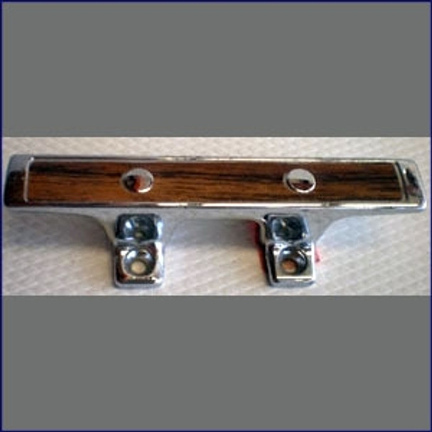 """Small Deck Cleat 4-1/2"""" Stainless  WO-10006"""
