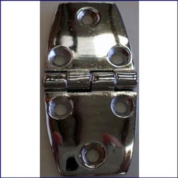 Door Hinge 1 1/2 in. Chrome Plated Zinc  WO-10053