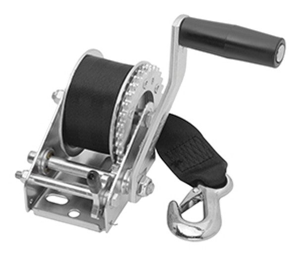 Cequent T900Z0101 900 lb. Single Speed Winch w/15' Strap