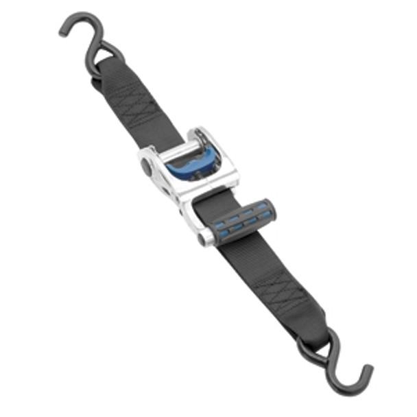 "Cequent Gunwale Max Grip Ratchet Tie Down 2"" x 10' Zinc"