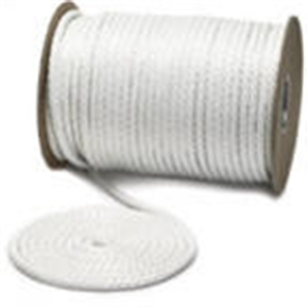 "Unicord Twisted Nylon White 1/4""x600'"
