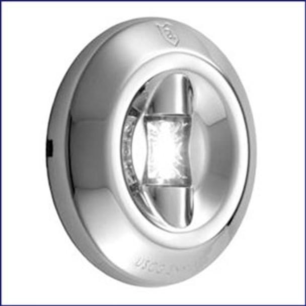 Attwood LED 3-Mile Round Transom Light 6556-7