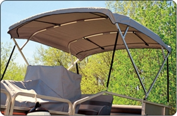 Taylor Made 11984 Fixed 1 in. Square Bimini Support Poles Pair