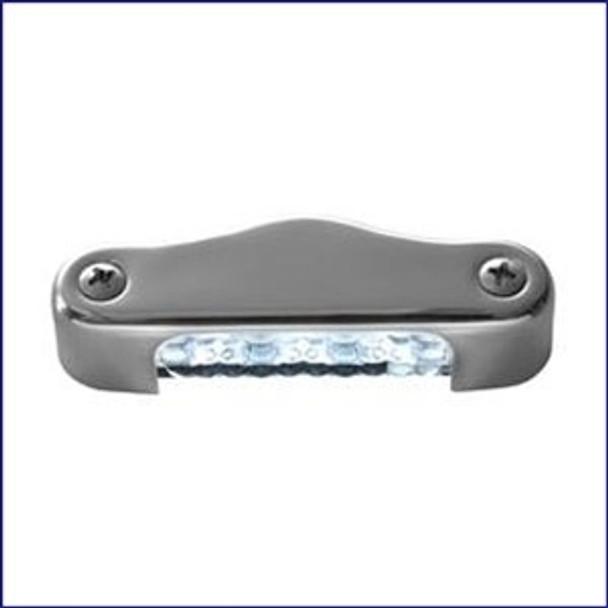 Attwood 6344SS1 3 inch LED Transom Light Oval Vert.
