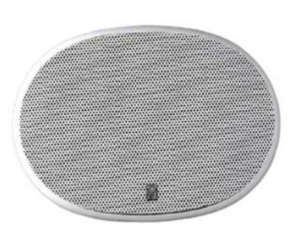 "Poly-Planar MA6900 Platinum High Power 6"" x 9"" Three Way Oval Speakers White"