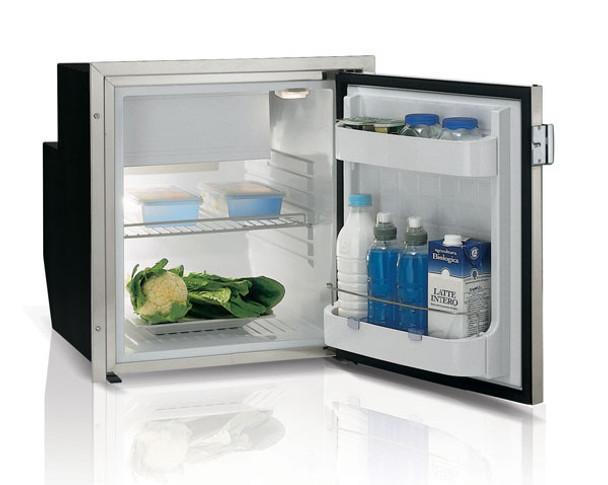 Vitrifrigo 2.2 Cu. Ft.  AC/DC Refrigerator with Stainless Steel Flush Flange C62IXD4-F