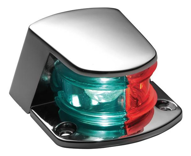 Attwood 1-Mile Zamak Sidelight Bi-Color Combination Micro-Mini 6375D6