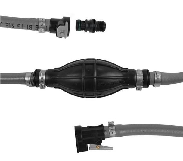 Attwood Evinrude Fuel Line Kit w/Fuel Demand Valve  6' 93806EFDV7