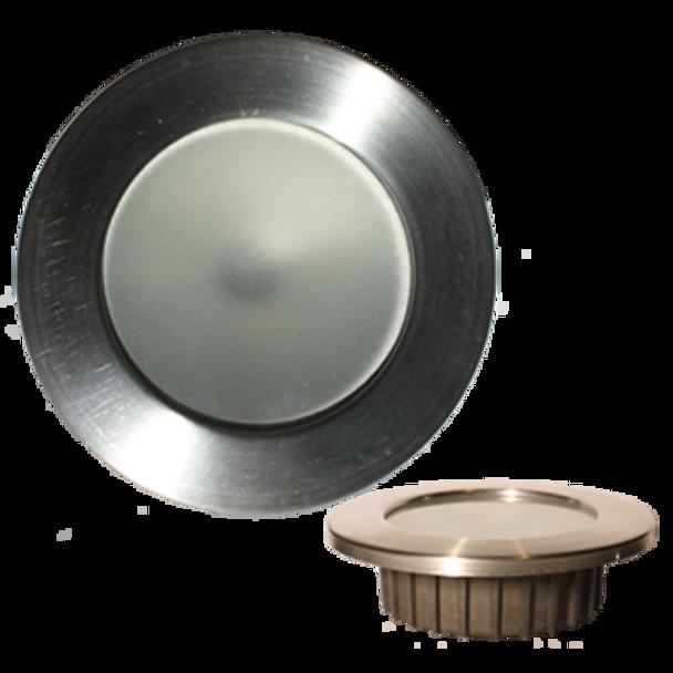 "Lunasea Recessed 3.75W COB LED, Recessed fixture, Warm White, H/L Switch 2.5"" hole LLB-46WW-2A-BN  LLB-46WW-2A-SS  LLB-46WW-2A-WH"