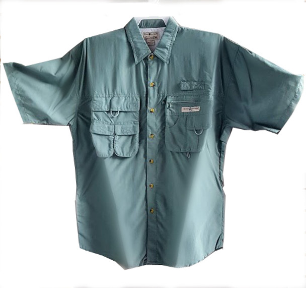 Hook & Tackle® Men's Dry Tortugas Shirt M01005S Seagreen