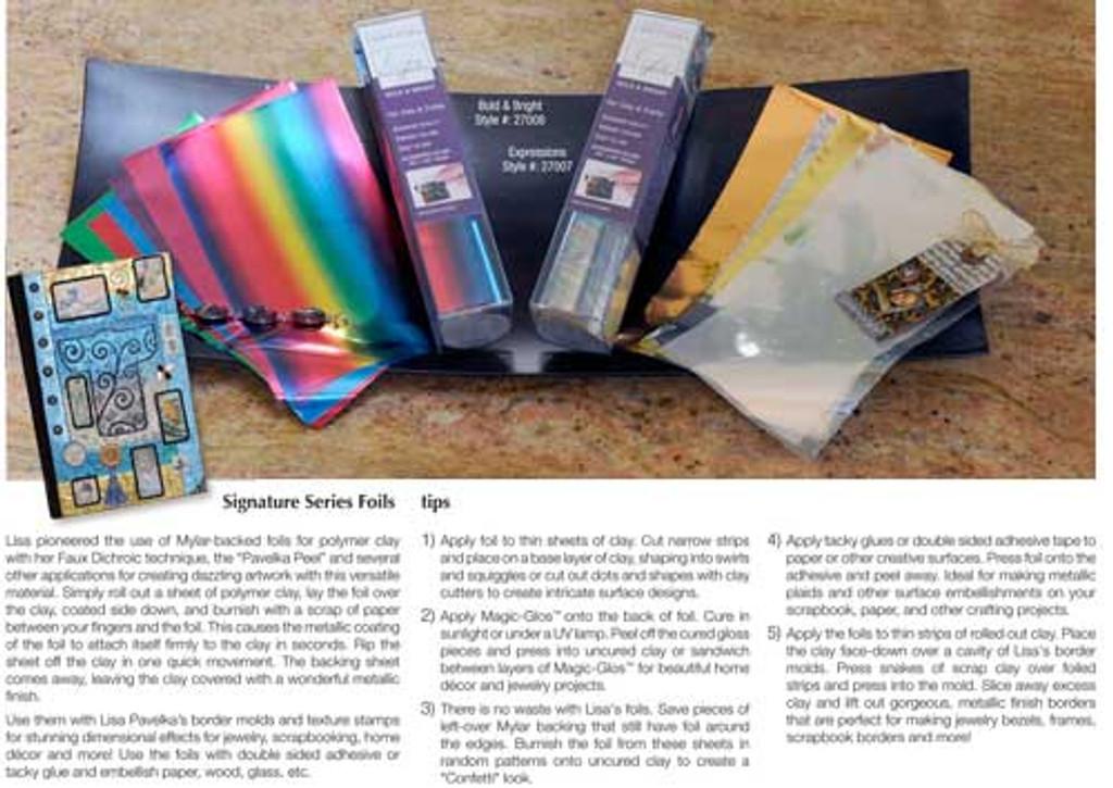 Lisa Pavelka Crafting Foils