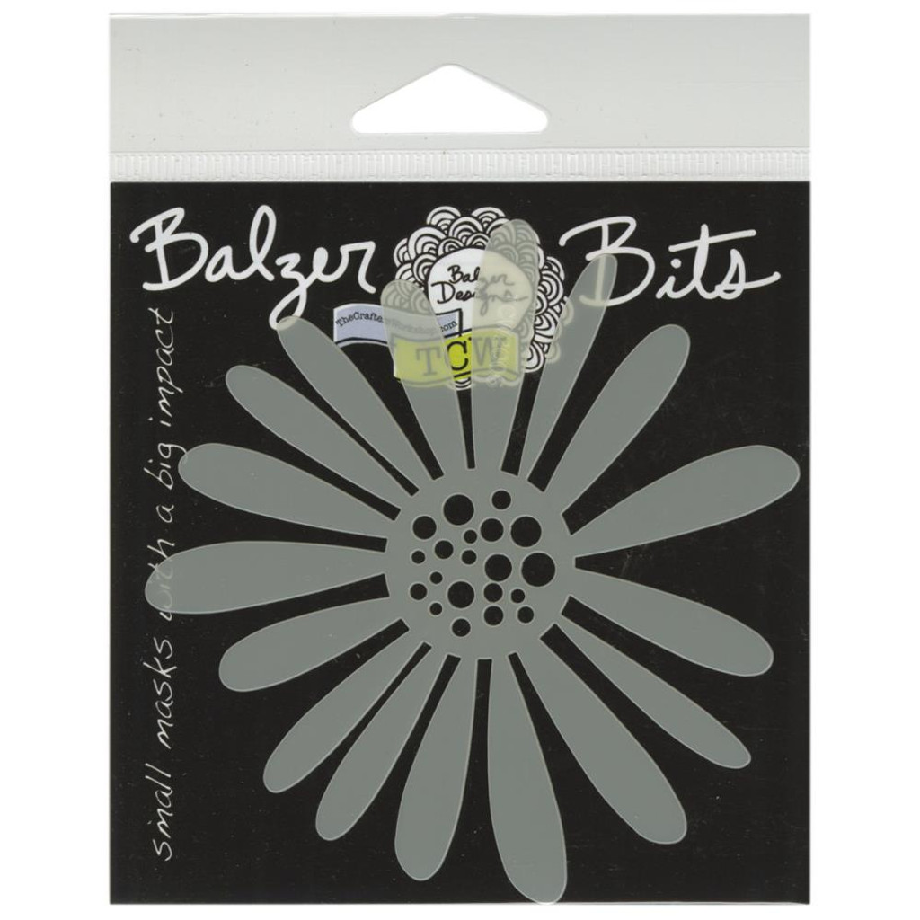 "Crafter's Workshop Balzer Bits Mask 4""X4"" Daisy Bits"