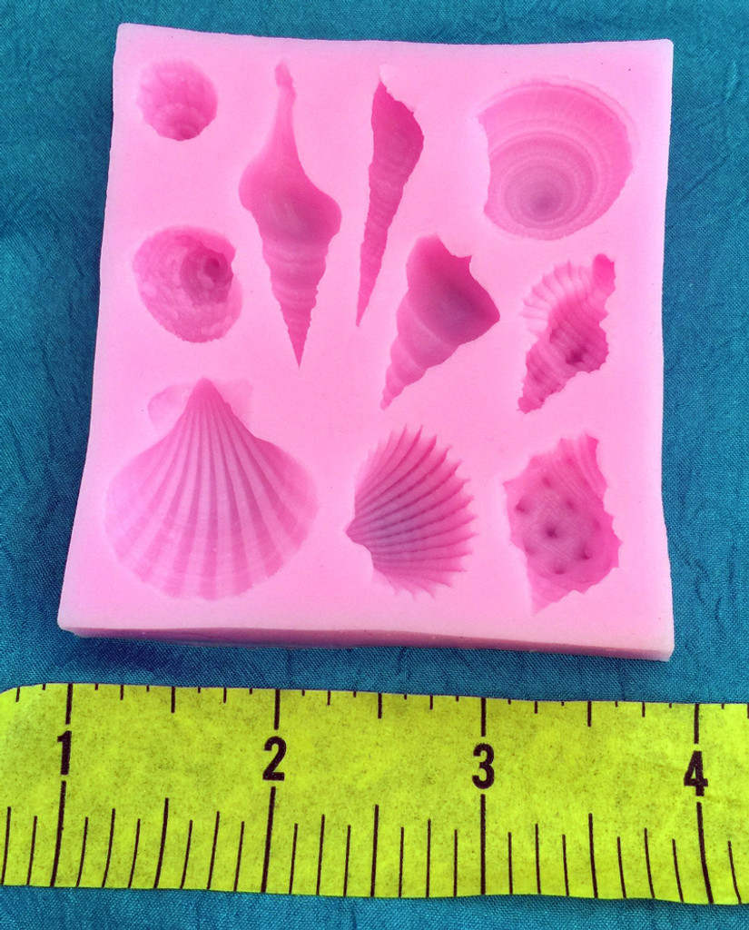 She Sells Sea Shells by the Sea Shore Silicone Mold