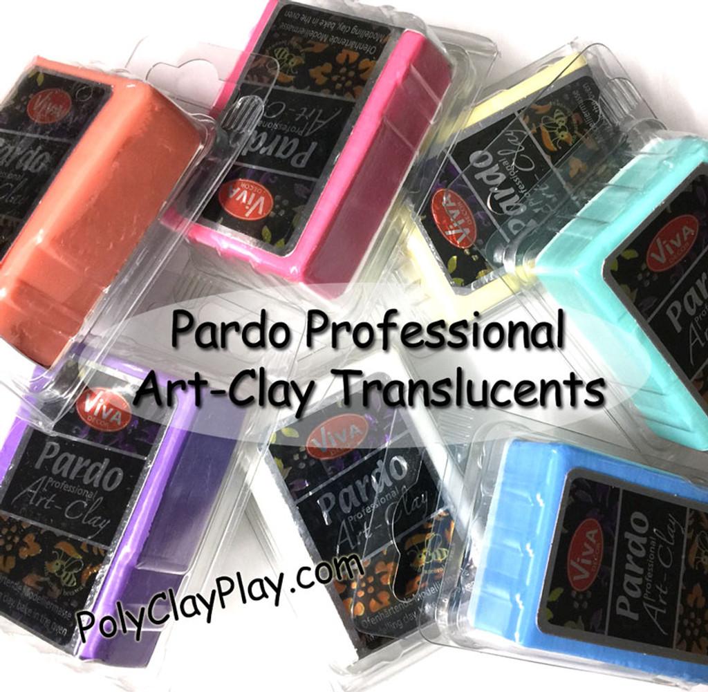 Pardo Translucent Art Clay Light Blue