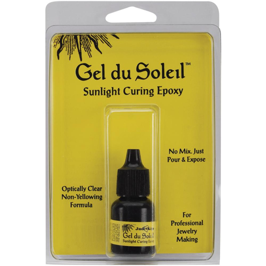 Gel Du Soleil Sunlight Curing Epoxy Resin