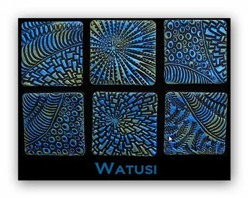 Helen Breil Stamps - Watusi