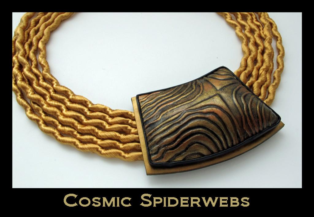 Helen Breil Stamps - Cosmic Spider Webs