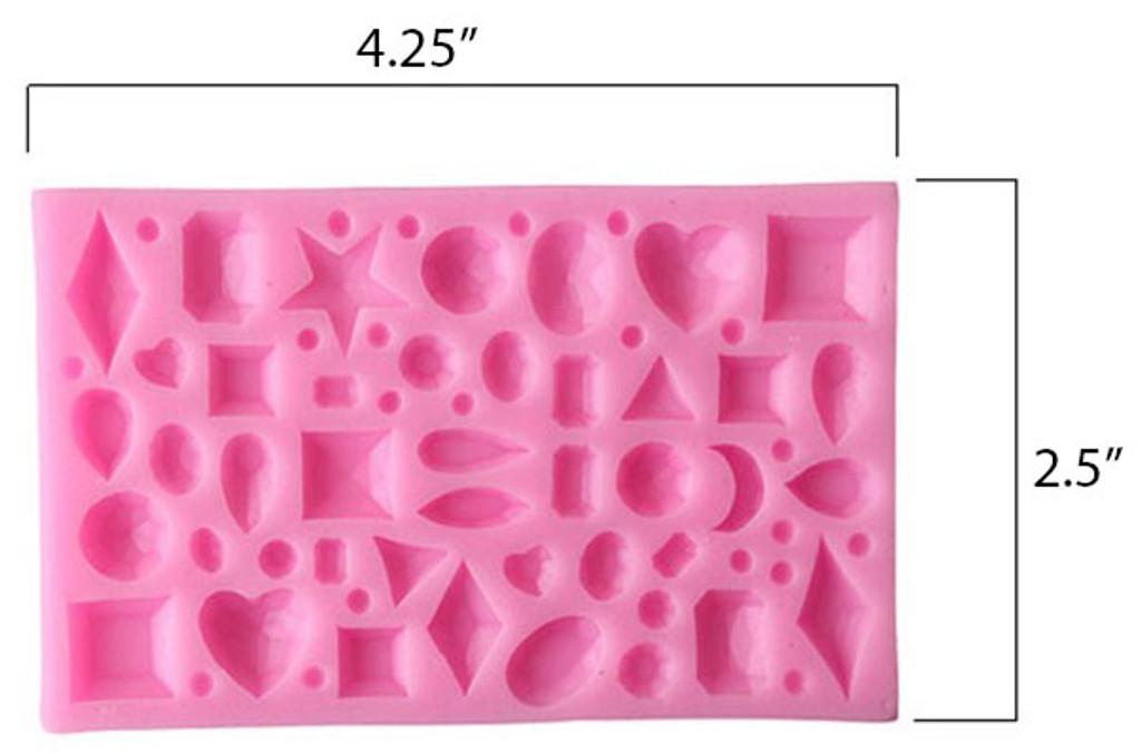 Mini Jewels 3d Mold