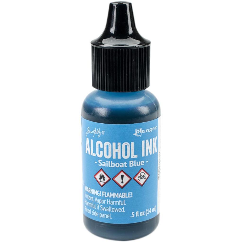 Alcohol Inks Tim Holtz -  Sailboat Blue