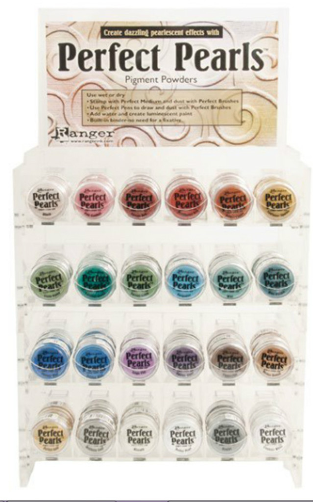Perfect Pearls Pigment Powders - Merriment Red