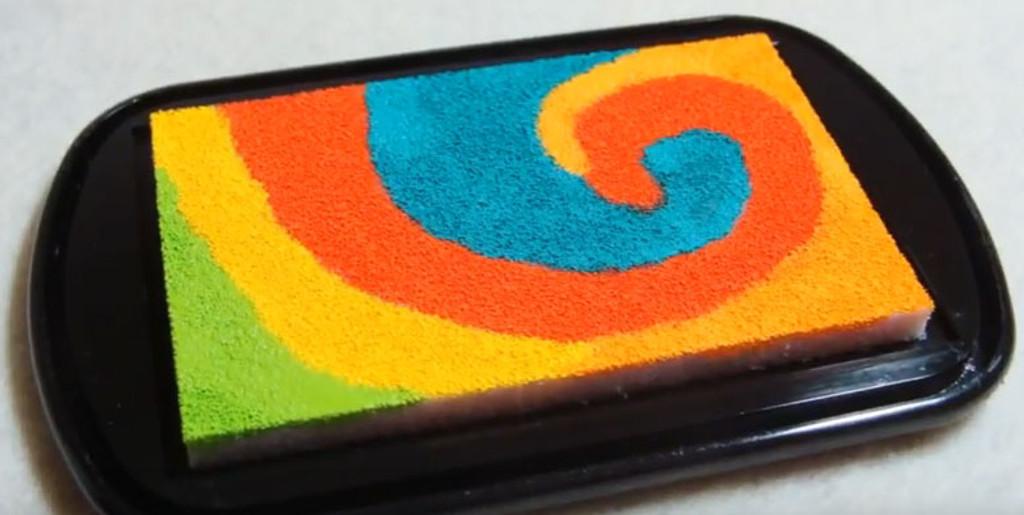 CLEARSNAP card using custom ink pad