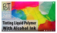 Liquid Sculpey Tinted with Ink Video