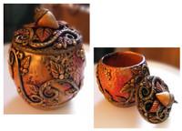 Autumn Faerie Treasure Jar Tutorial