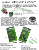 Makin's® ClayCore™ Adapters