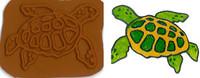 Sea Turtle Stamplate