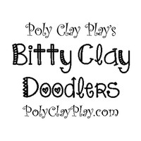 Bitty Clay Doodlers from Poly Clay Play