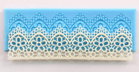 Flower Lace Repeating Border Mold