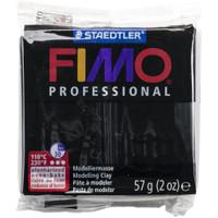 Fimo Professional Polymer Clay - Black 2oz
