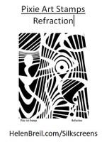 Mike Breil Silk Screen - Refraction