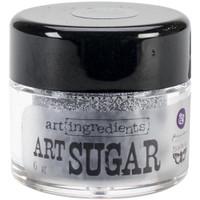 Finnabair Art Ingredients Art Sugar Ultra Fine Glitter .21oz - Antique Silver